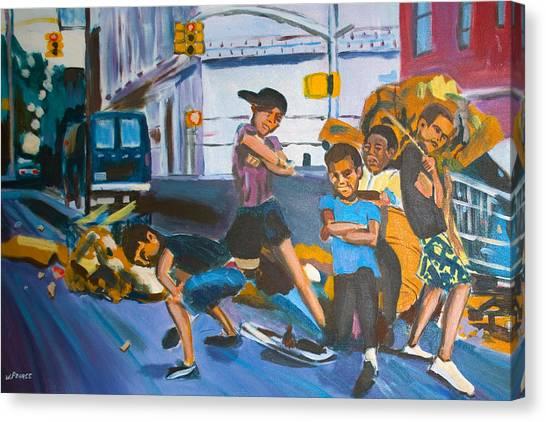Playground Canvas Print by Wayne Pearce