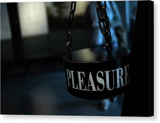 Pleasure Canvas Print