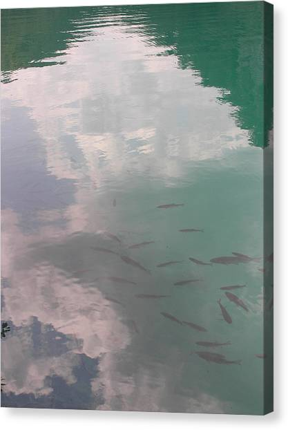 Plitvicelake Canvas Print