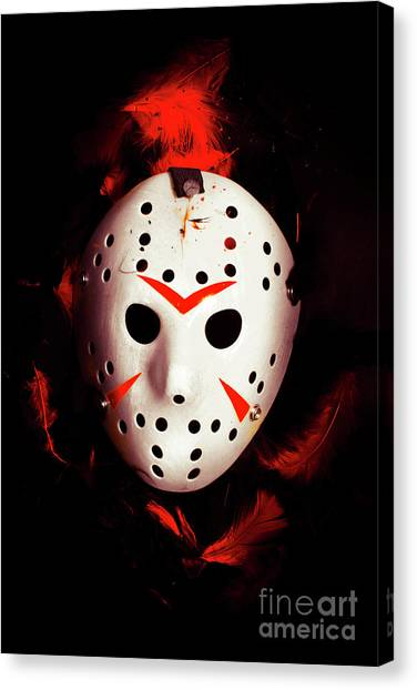 Hockey Players Canvas Print - Plot Holes From Twisted Tales by Jorgo Photography - Wall Art Gallery