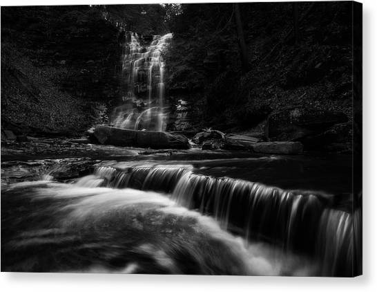 Plotter Kill Falls Canvas Print