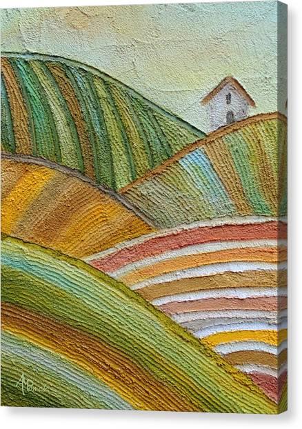 Plowing Through Canvas Print