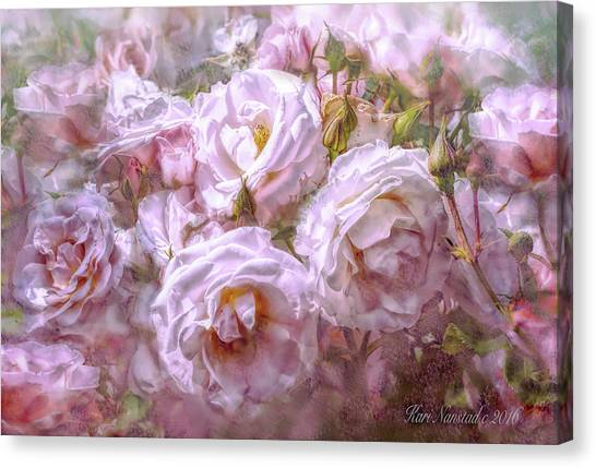 Pocket Full Of Roses Canvas Print