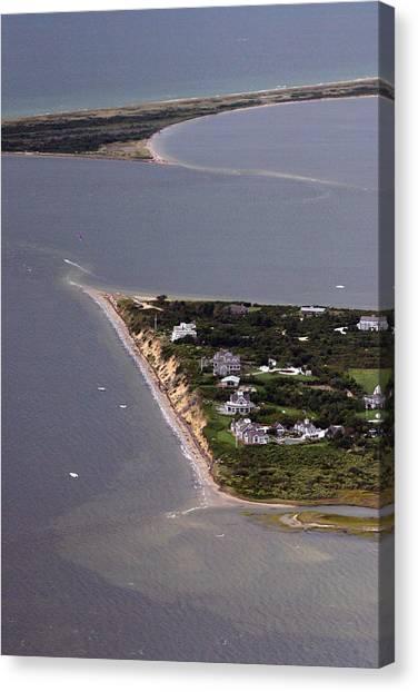 Pocomo Point Nantucket Island Canvas Print