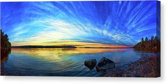 Pocomoonshine Sunset 1 Canvas Print