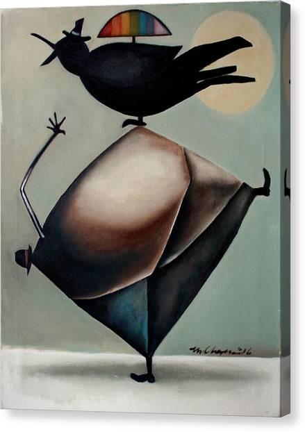Poetics Canvas Print by Martel Chapman