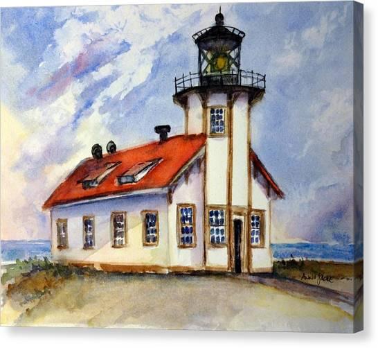 Point Cabrillo Light Station - Fort Bragg Canvas Print