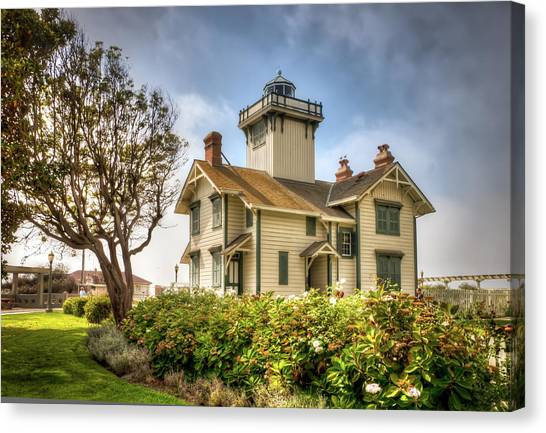 Point Fermin Lighthouse Canvas Print