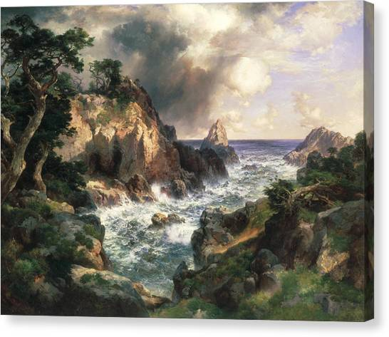 Point Lobos Monterey California Canvas Print
