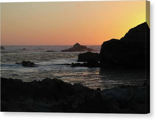 Point Lobos Sunset Canvas Print