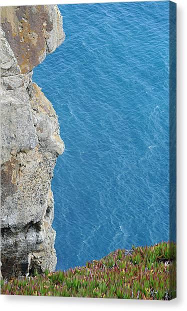 Point Reyes Cliffs Canvas Print