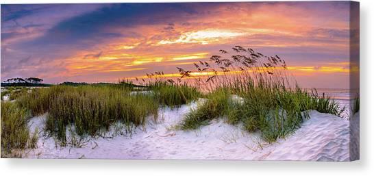Point Sunrise Canvas Print