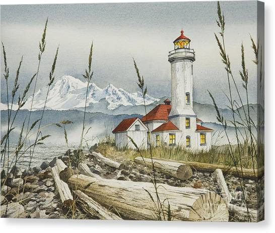 Point Wilson Lighthouse Canvas Print