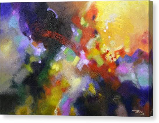 Points Of Light Canvas Print