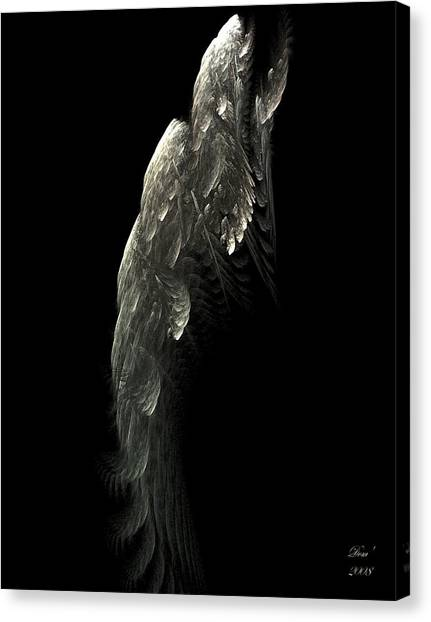 Poisson Volant Canvas Print by Dom Creations