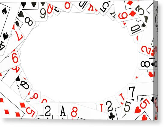 Draw Poker Canvas Prints Fine Art America