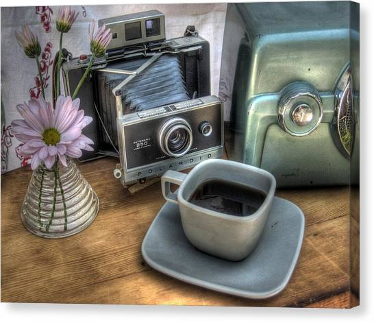 Missouri Canvas Print - Polaroid Perceptions by Jane Linders