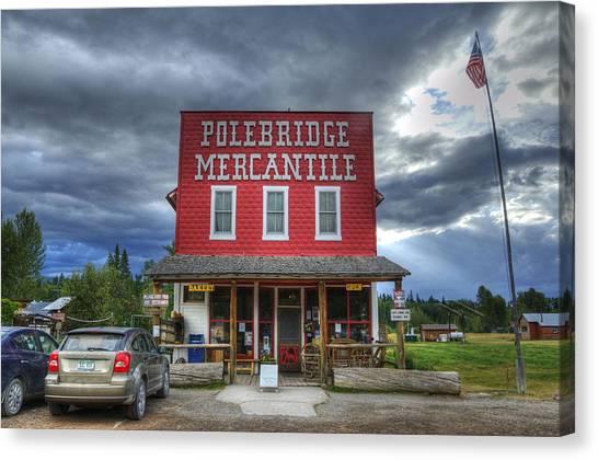 Polebridge Mercantile Canvas Print