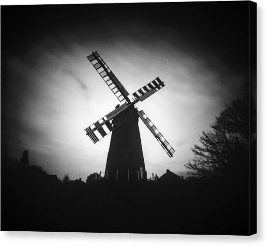 Polegate Windmill Canvas Print