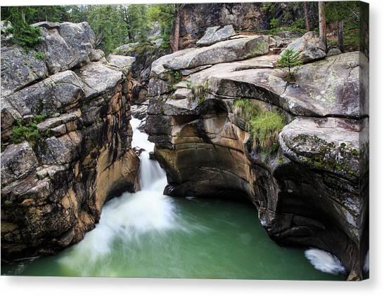Polished Rock Canvas Print