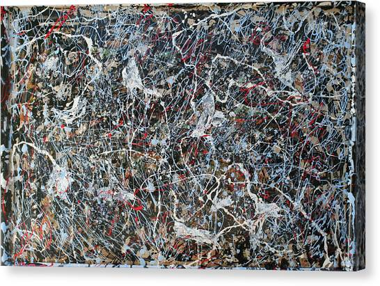 Pollock's Ghosts Canvas Print by Biagio Civale
