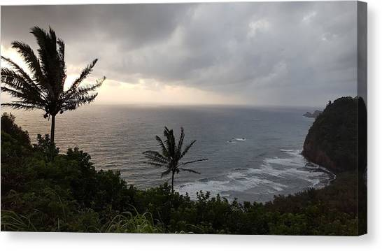 Pololu Valley, Hawaii Canvas Print