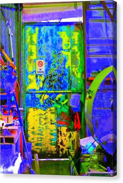 Polychromous Canvas Print by Kirk Long