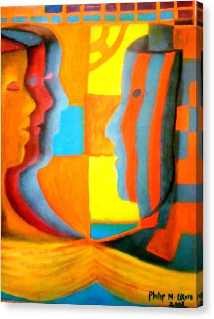 Polymorphism I Canvas Print by Philip Okoro