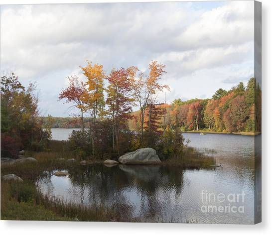 Ponaganset Autumn 2015 Canvas Print