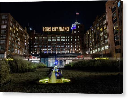 Ponce City Market Canvas Print