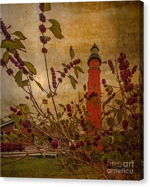 Linda King Canvas Print - Ponce De Leon Inlet Lighthouse 6851 by Linda King