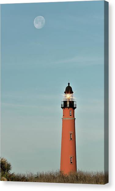 Ponce De Leon Lighthouse Canvas Print