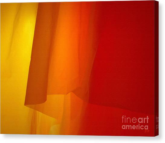 Poncho Abstract 5 Canvas Print
