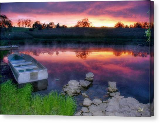 Pond Dreams 9 Canvas Print