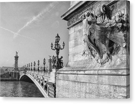 Pont Alexandre Canvas Print