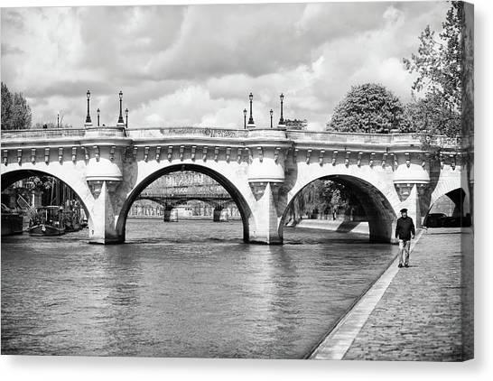 Pont Neuf, Paris Canvas Print
