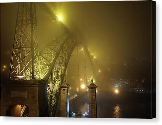 Ponte D Luis I Canvas Print