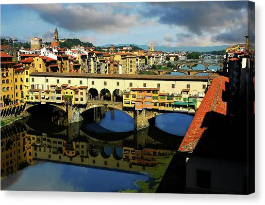 Ponte Vecchio View  Canvas Print