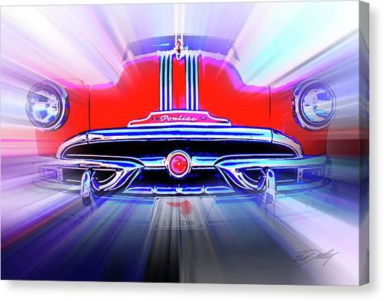 Pontiac 1953 Canvas Print