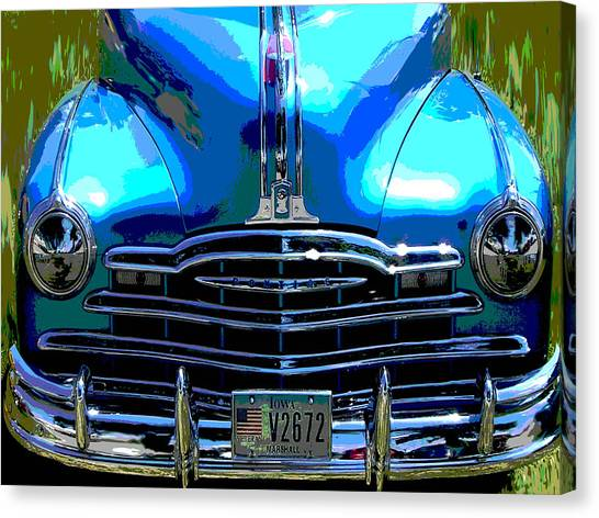 Canvas Print - Pontiac by Audrey Venute