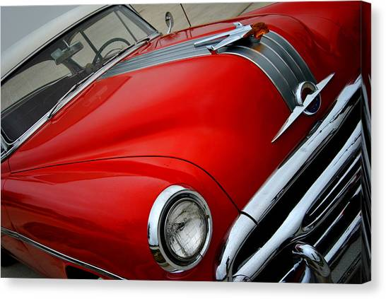 Pontiac Chieftain 1954 Front Canvas Print