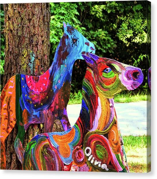Pony Art   Canvas Print
