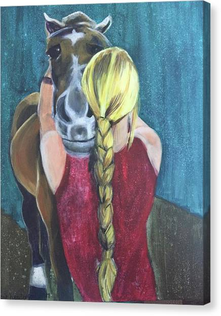 Pony Love Canvas Print