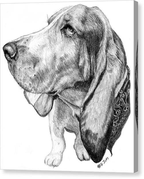 Pooch Canvas Print