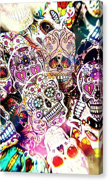 Punk Canvas Print - Pop Art Horrors by Jorgo Photography - Wall Art Gallery