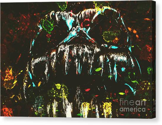 Colourful Canvas Print - Pop Art Madness by Jorgo Photography - Wall Art Gallery