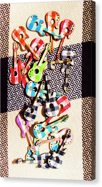 Electronic Instruments Canvas Print - Pop Art Music by Jorgo Photography - Wall Art Gallery