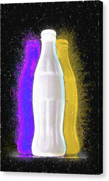 Soda Canvas Print - Pop Art by Tom Mc Nemar