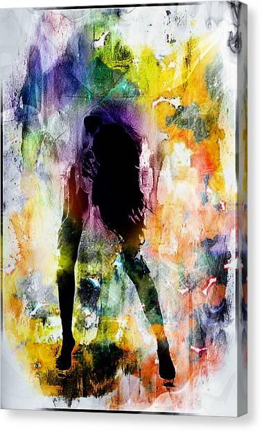 Pop Dance Canvas Print