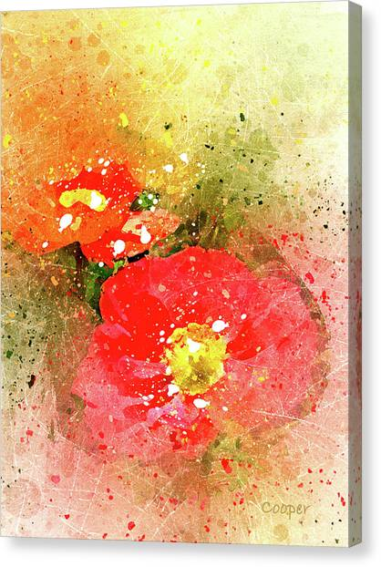 Poppies 5 S Canvas Print